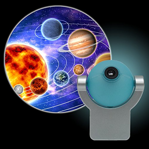 Projectables Solar System Led Plug In Night Light The